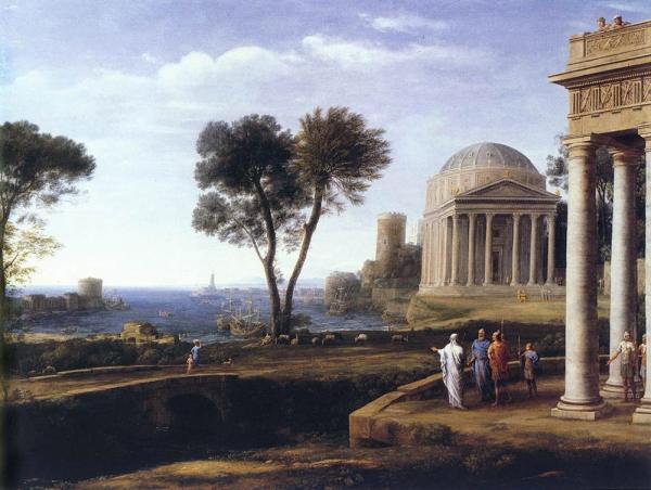 Пейзаж с Энеем на Делосе