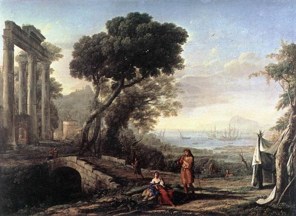 Итальянский прибрежный пейзаж