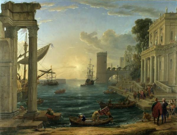 Отплытие царицы Савской