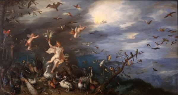 Воздух, 1611
