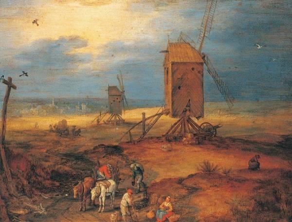 Четыре ветряные мельницы, 1605