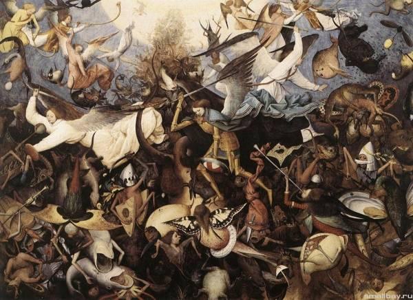 Падение мятежных ангелов, 1562