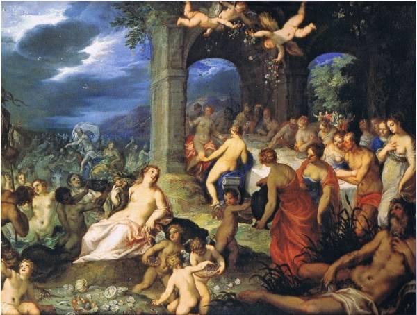 Свадьба Нептуна и Амфитриты, 1600