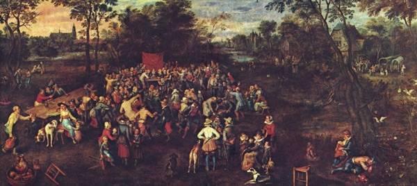 Свадебное пиршество, 1623