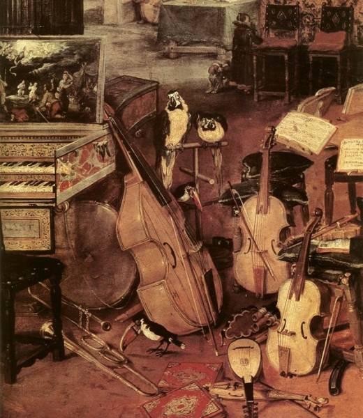 Слух, деталь, 1618
