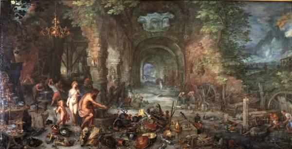 Огонь, 1611