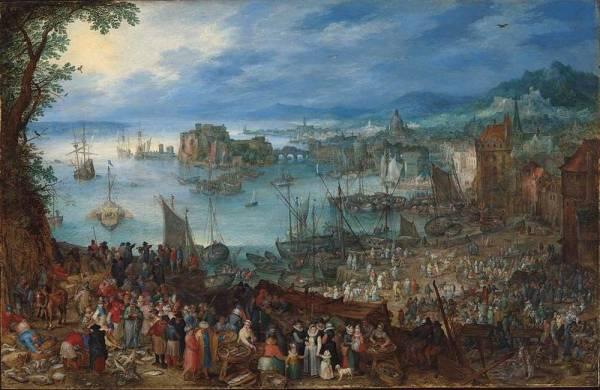 Большой рыбный рынок, 1603