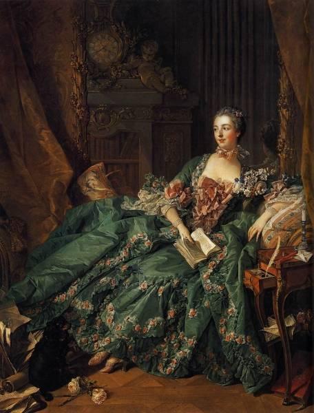 Портрет мадам де Помпадур, 1756