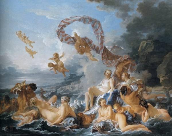 Триумф Венеры, 1740