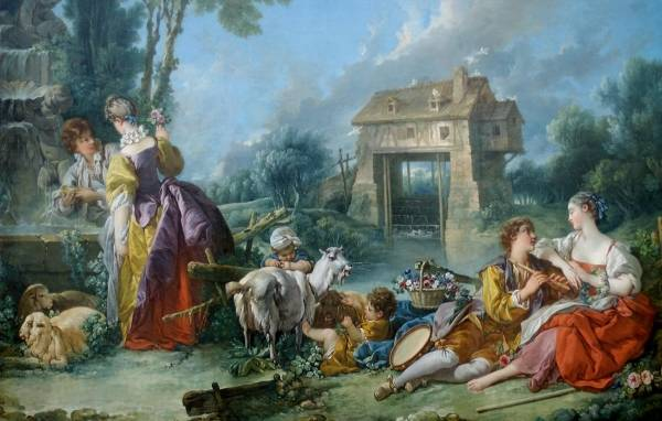 Фонтан любви, 1748