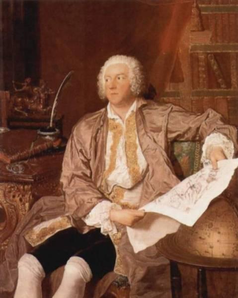 Портрет шведского посла К. Г. Тессина, около 1740