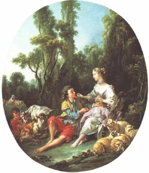 Они думают о винограде, 1749