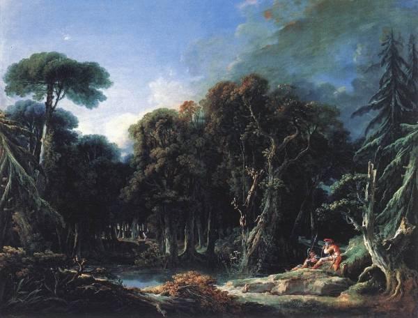 Лес, 1740