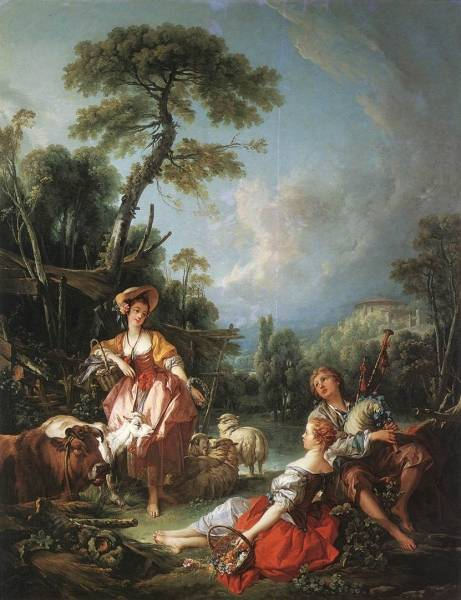 Летняя пастораль, 1749