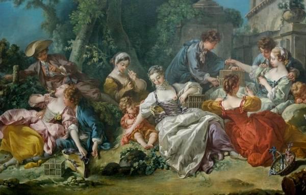 Ловцы птиц, 1748