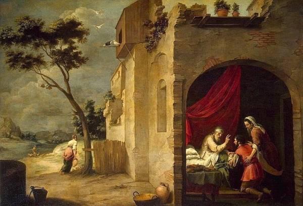 Благословение Иакова Исааком, ок. 1660