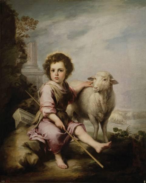 Добрый пастух Христос