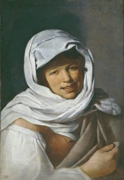 Девушка с Монетой (Галисийка)