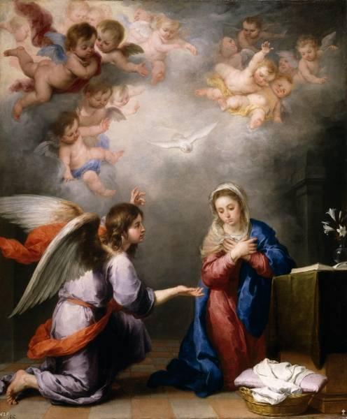 Благовещение, ок.1660