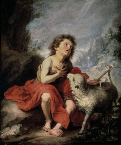 Святой Иоанн Креститель в детстве