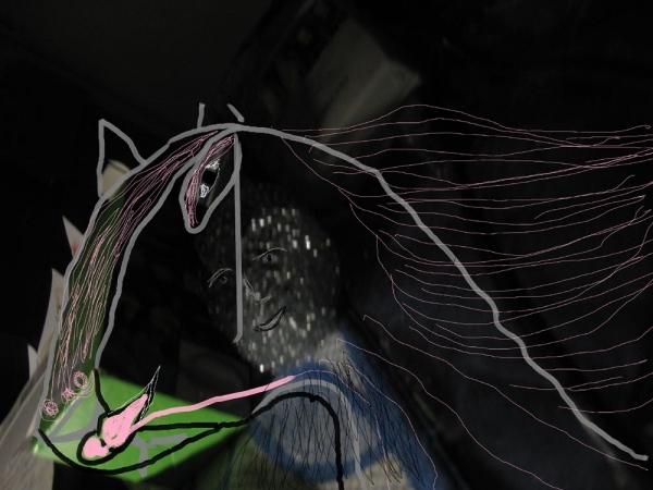 Среда....Лошадь его мечты...........