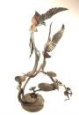 Кованый подсвечник Танец птиц