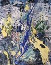 Картина Москва Кремль Храм Василия Блаженного Живопись Екатерина Лебедева художница