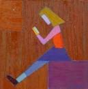 девочка на кубе