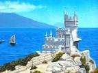 Замок Ласточкино гнездо(Крым)