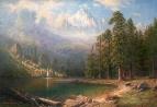 Вольная копия Альберта Берштадта. Гора Коркорэнб