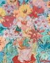still life painting flowers картины художников Екатерина Лебедева Лавизм contemporary art