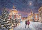 Снежная сказка в городе