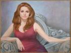 Портрет женщины в кресле