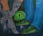 Магический глаз крокодила