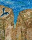 Пейзаж с павлинами