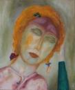 Портрет рыжеволосой женщины