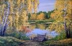 Осенний пруд /  Игорь Воробьев