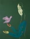 A girl and a bird /  Марина Бат-Хаям