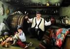 Mолдавский винодел. Дегустация изумительного молодого вина.