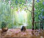 Летний дождь.