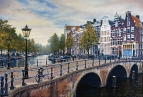 Амстердам. Главный канал