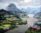 Цветение рапсовых полей в Китае