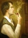 Мужской портрет с трубкой