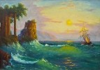 Морской прибой