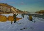 Зимняя рыбалка на Дону /  Геннадий Литвиненко