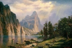 Копия. Альберт Бирштадт. Река Мерсед  Йосемитская долина