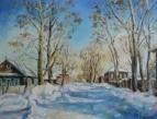 Морозный день в Соликамске