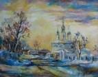 Закат над Архангельской церковью