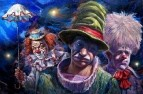 Characters and personages_are Three clowns