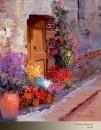 Описание энергетики картины Кент Уоллис Doorway Blossoms
